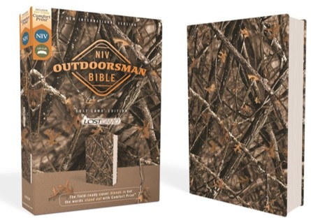 Buy your copy of the NIV Outdoorsman Bible, Lost Camo Edition in the Bible Gateway Store where you'll enjoy low prices every day