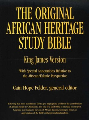 Buy your copy of The Original African Heritage Study Bible in the Bible Gateway Store where you'll enjoy low prices every day