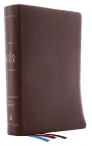 Buy your copy of NKJV Comfort Print Open Bible, Genuine Leather, Brown in the Bible Gateway Store where you'll enjoy low prices every day