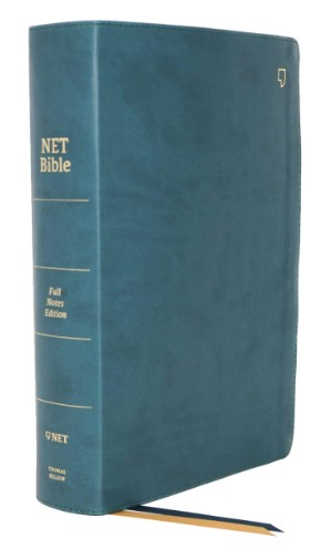 Buy your copy of the NET Bible-Full-Notes Edition, Leathersoft, Teal, Comfort Print in the Bible Gateway Store where you'll enjoy low prices every day