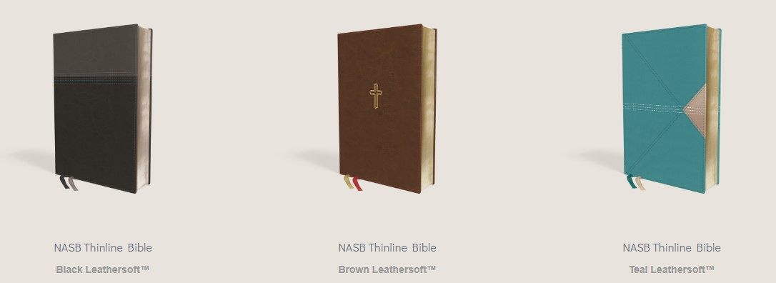 Browse the variety of New American Standard Bible, 1995 Edition (NASB) print editions in the Bible Gateway Store where you'll enjoy low prices every day