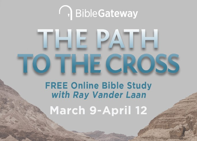 Sign up now to join the free Path to the Cross Online Bible Study