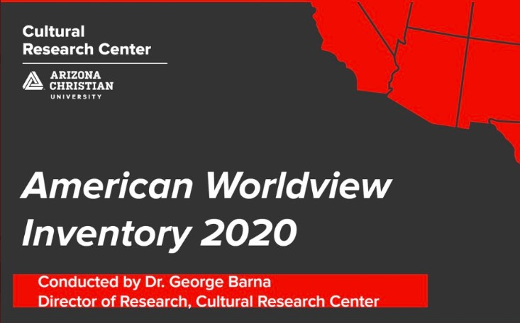 Request your copy of the American Worldview Inventory 2020