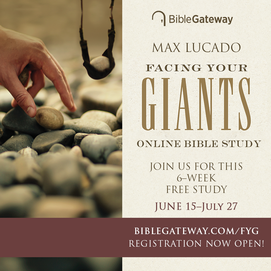 Join the free Facing Your Giants Online Bible Study