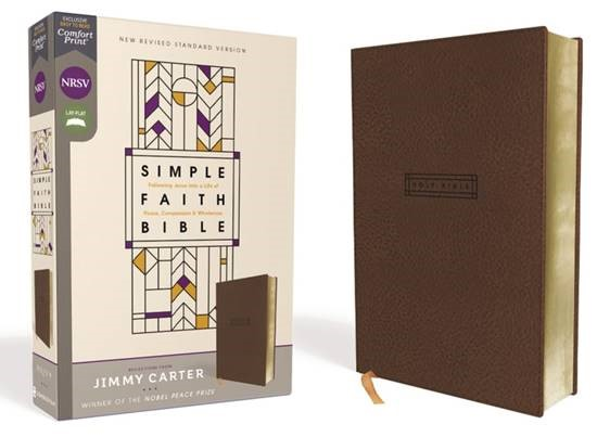 Buy your copy of the NRSV Simple Faith Bible in the FaithGateway Store where you'll enjoy low prices every day