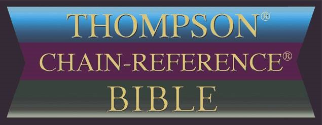 Thompson Chain-Reference Bible logo by Kirkbride Bible Company