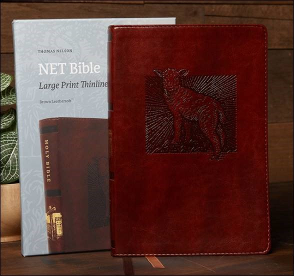 Buy your copy of the NET Bible, Thinline Art Edition, Large Print, Leathersoft, Comfort Print in the FaithGateway Store where you'll enjoy low prices every day
