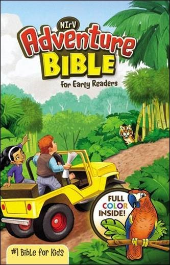 Buy your copy of the NIrV Adventure Bible for Early Readers in the FaithGateway Store where you'll enjoy low prices every day