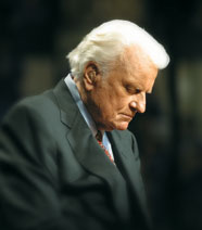 Billy Graham Home From Hospital