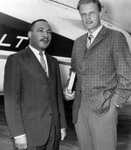 Billy Graham and Martin Luther King, Jr.