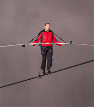 A High-Wire Walk For Christ