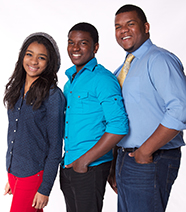 Young Gospel Trio Deflecting Glory