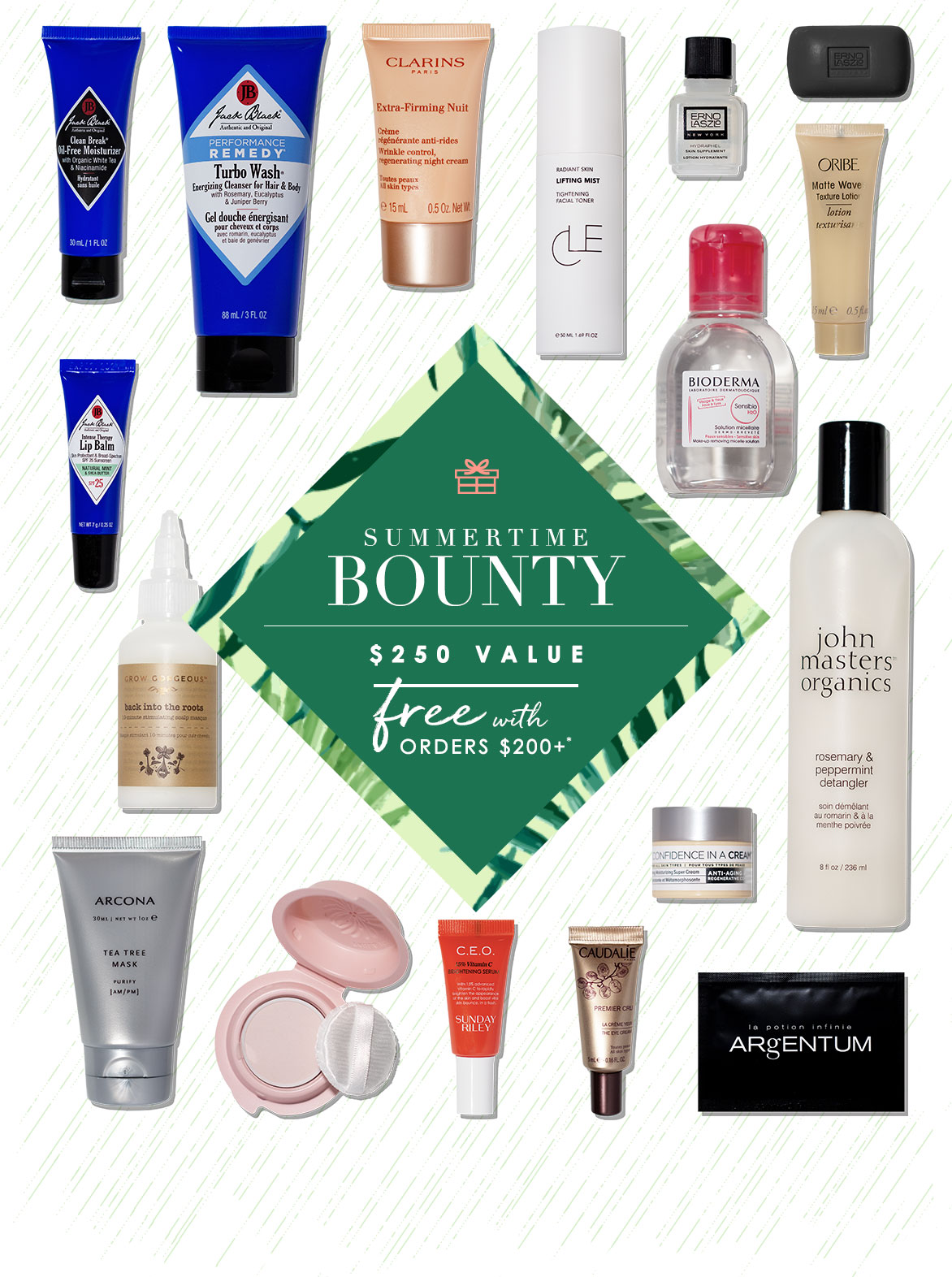 Our gift to you: must-Haves, Obsession-Worthy, cult-coveted beauty.