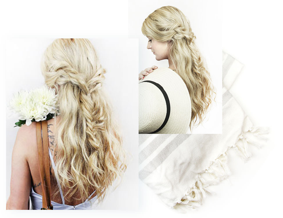 beachy boho braids