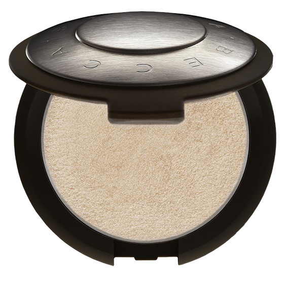 BECCA COSMETICS Shimmering Skin Perfector Poured, Moonstone, pale gold shade cream highlighter