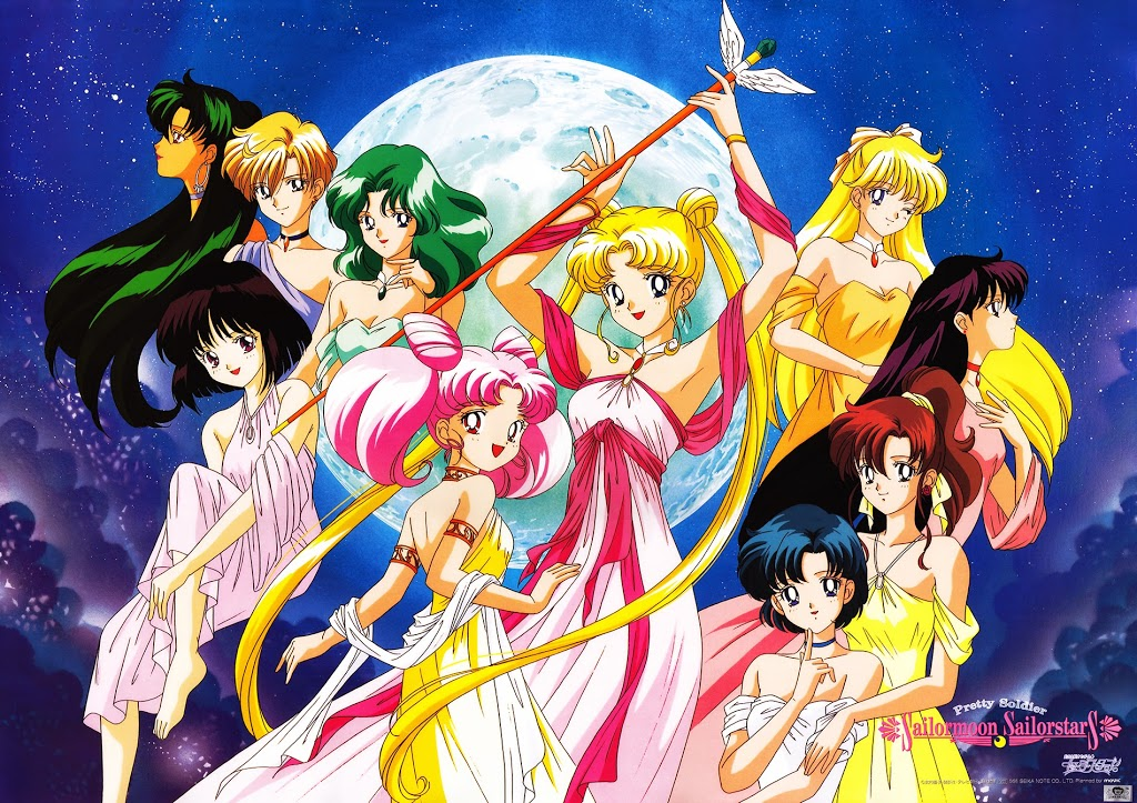 Sailor Moon Live Tweet Mondays