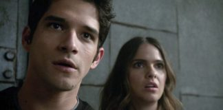 Melia and Scott, teen wolf