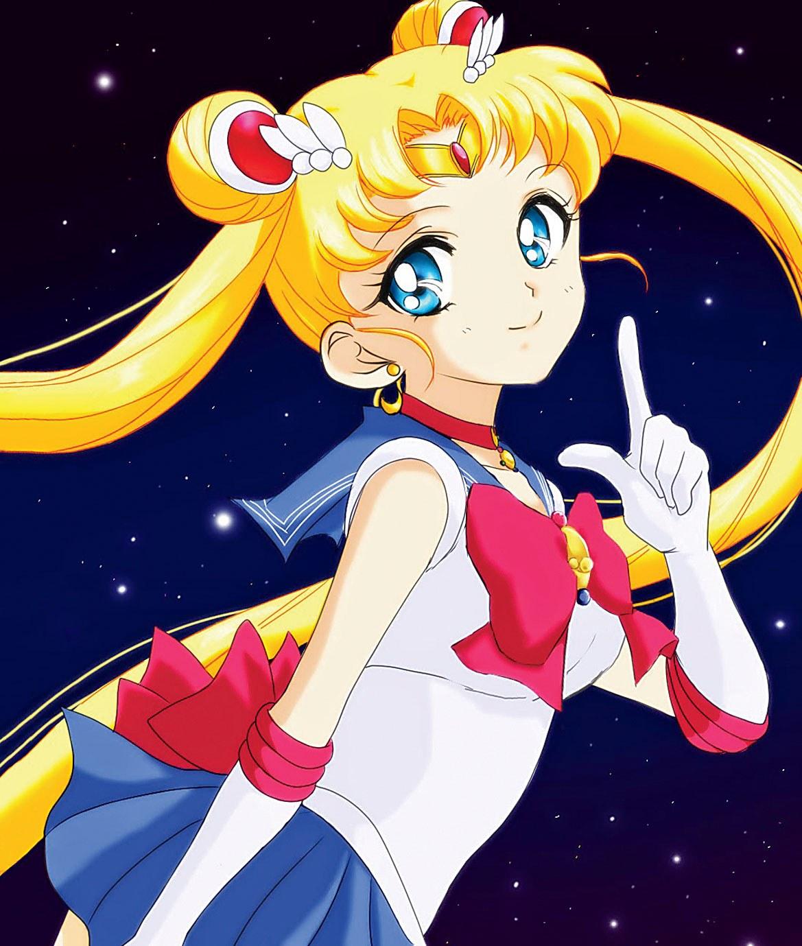 sailor moon хентай