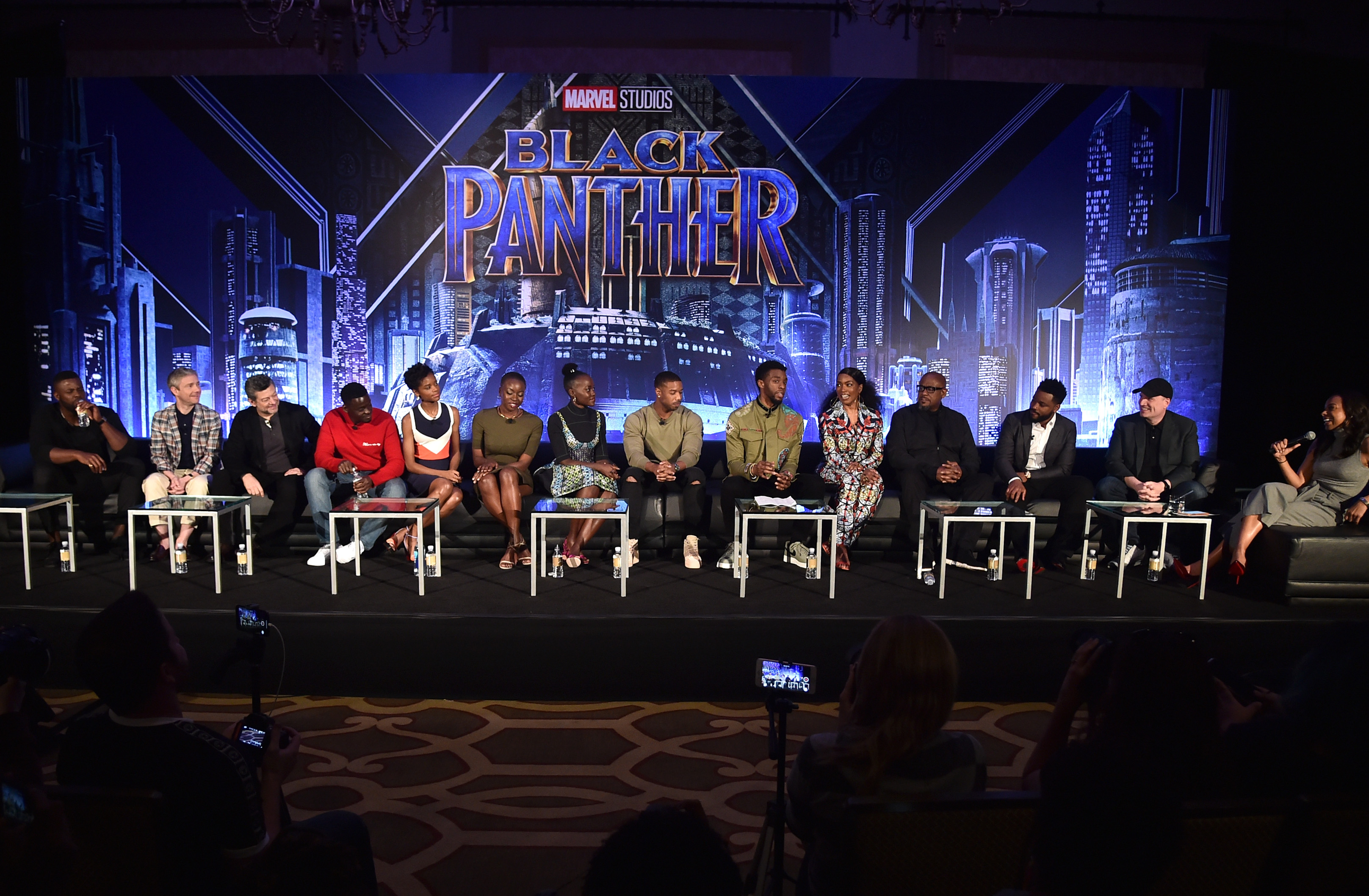 The Cast and Crew of Marvel's Black Panther