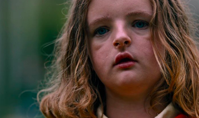 Milly Shapiro as Charlie in Hereditary.