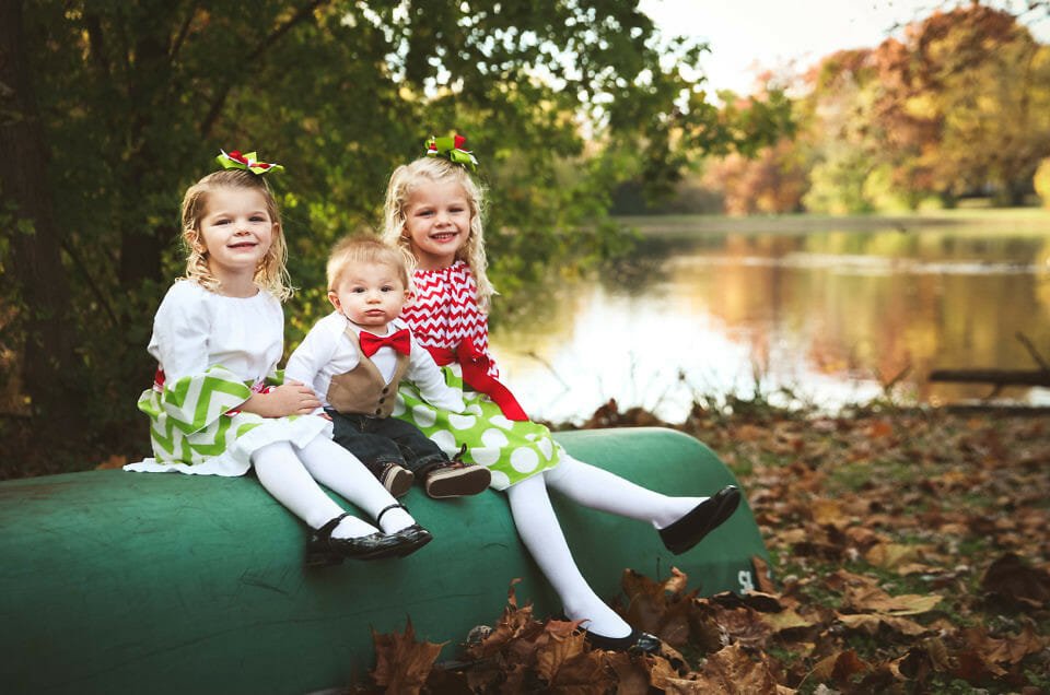 Willis' Kids Christmas Shoot | Louisville, KY Family Photographer