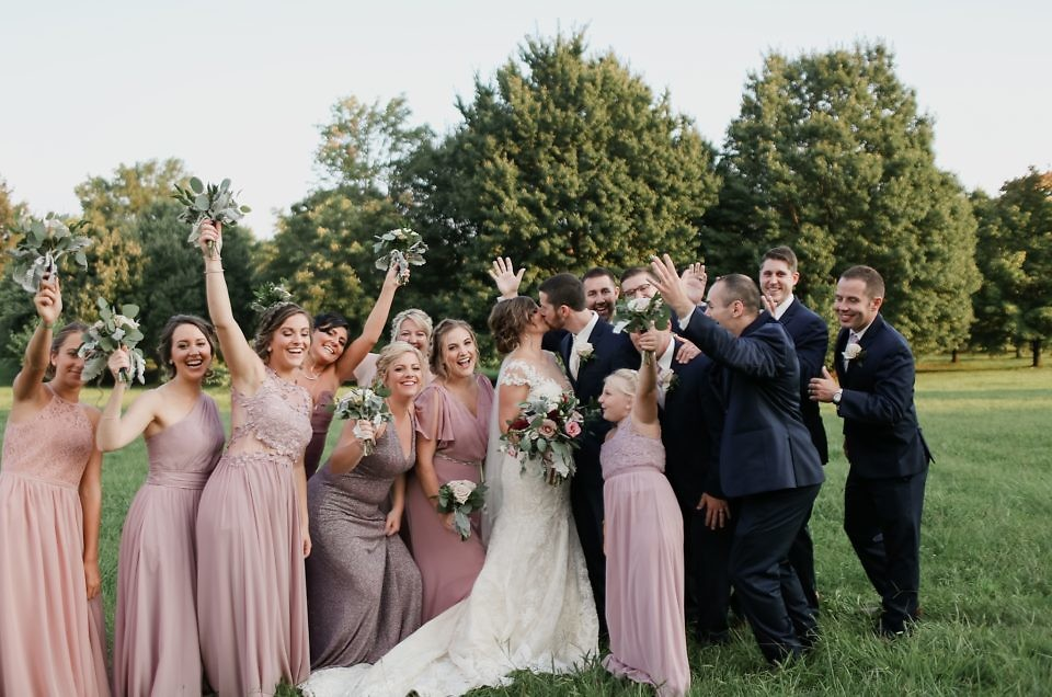 Chris & Jennifer The Jeffersonian 8.10.18 | Louisville, Ky Wedding Photographer
