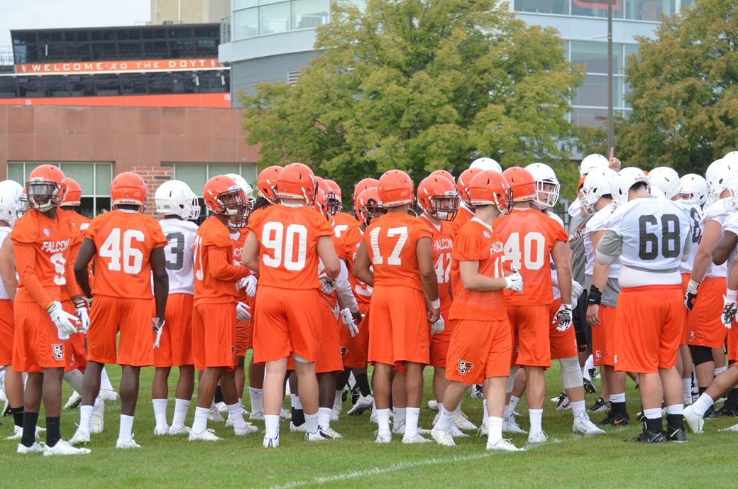 Fall Camp Day 1 Team