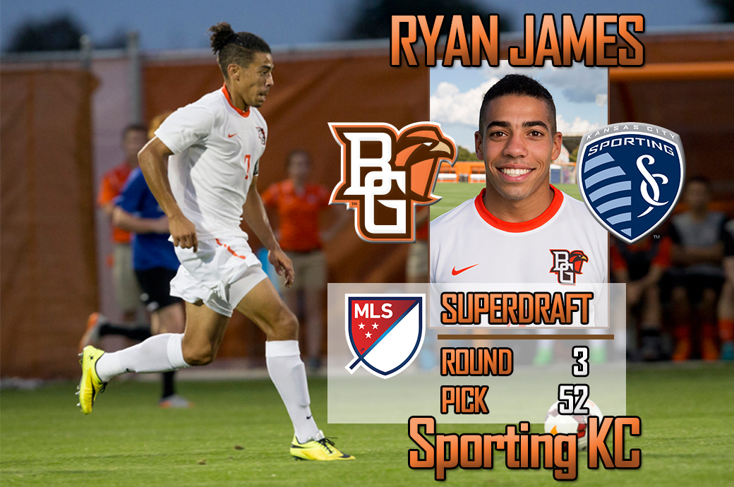 Jan 19 2016 - Ryan James drafted by Sporting KC