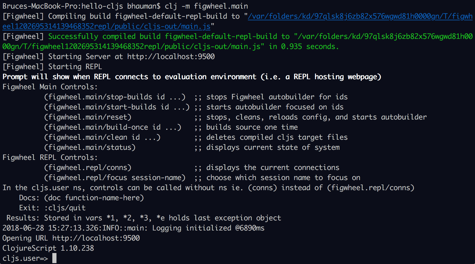 figwheel repl prompt in terminal