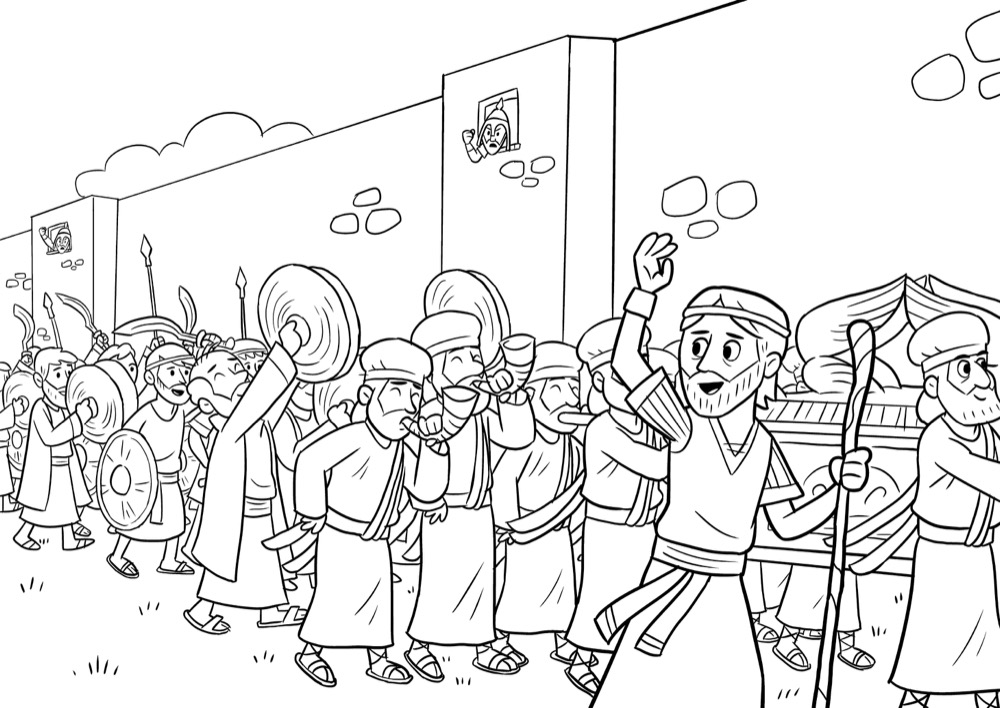 Deborah Coloring Page – Children's Ministry Deals | 708x1000