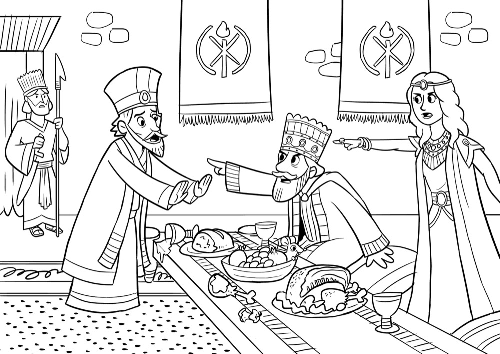 Bible App for Kids Coloring Sheets