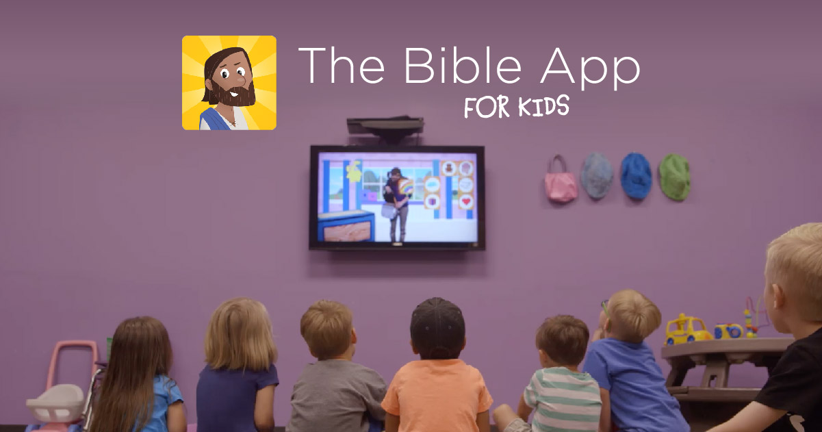 Bible App for Kids Resources for Churches