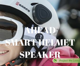 Ahead Helmet Mount Speaker