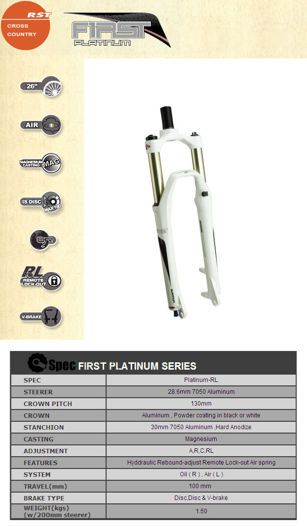 rst first pratinum remote fork