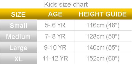 polaris sizing chart