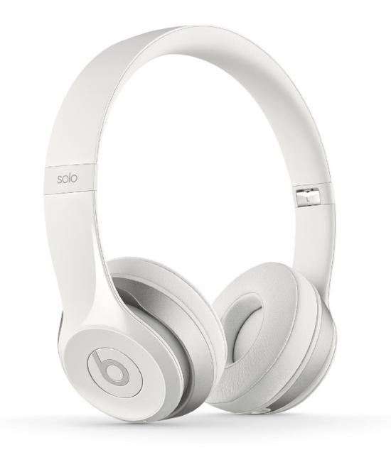 Beats Solo2 Wireless On-Ear Headphones - White