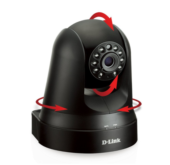 D-Link DCS-5009L Pan & Tilt Wi-Fi Camera