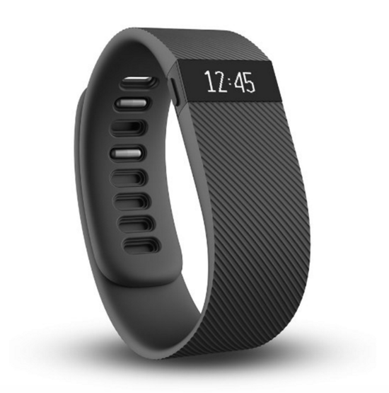 Fitbit Charge Wireless Wristband - Black - Large