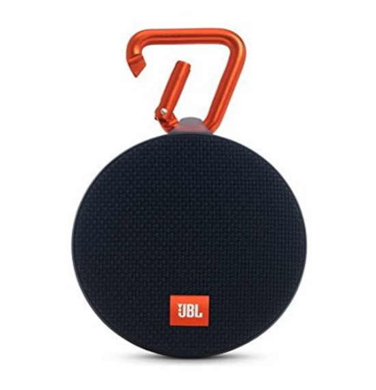 JBL Clip 2 Waterproof Bluetooth Speaker - Black