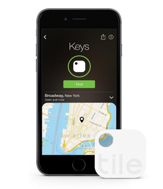 Tile Phone Finder, Key Finder - 4 Pack - Generation 2