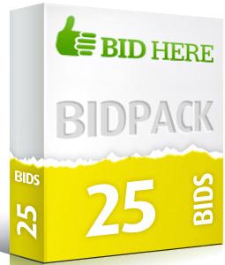 25 BidPack