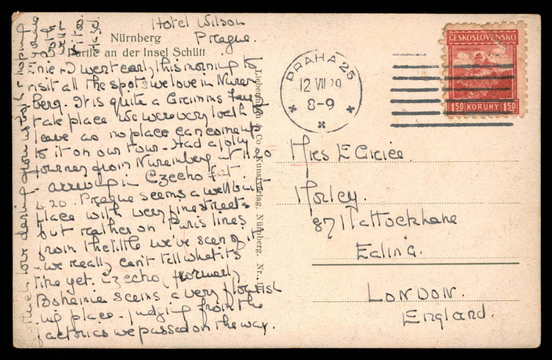 Lot 1 - synagogue postcards  -   Auction #3