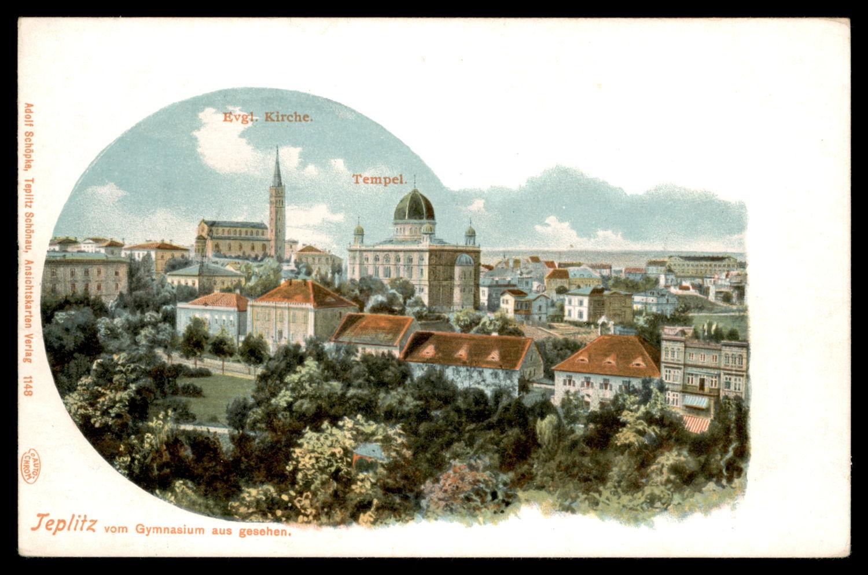 Lot 5 - synagogue postcards  -   Auction #3