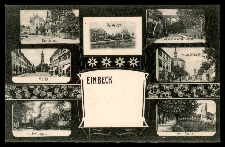 Lot 10 - synagogue postcards  -   Auction #3
