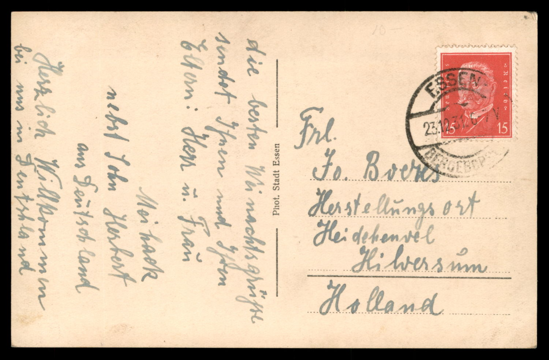 Lot 12 - synagogue postcards  -   Auction #3
