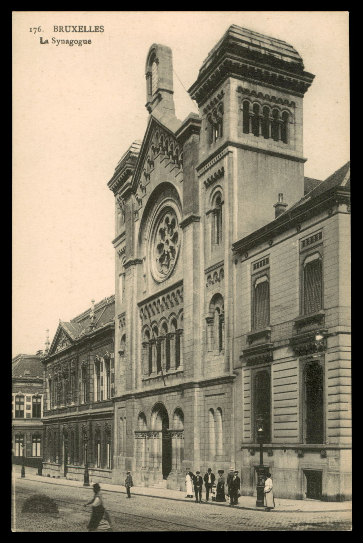 Lot 22 - synagogue postcards  -   Auction #3