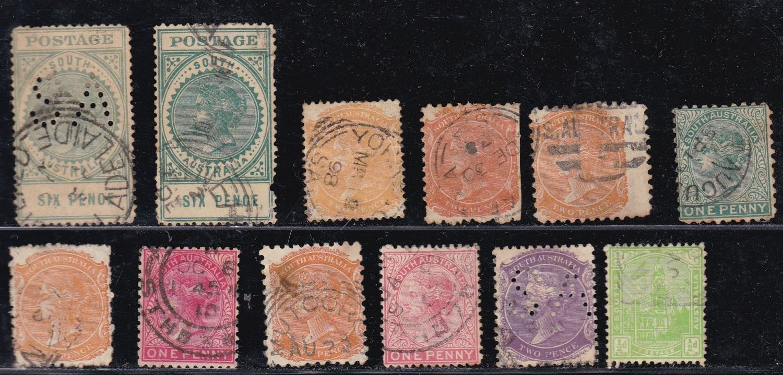 Lot 643 - Australia & Australian States Pre 1913  -   Auction #3