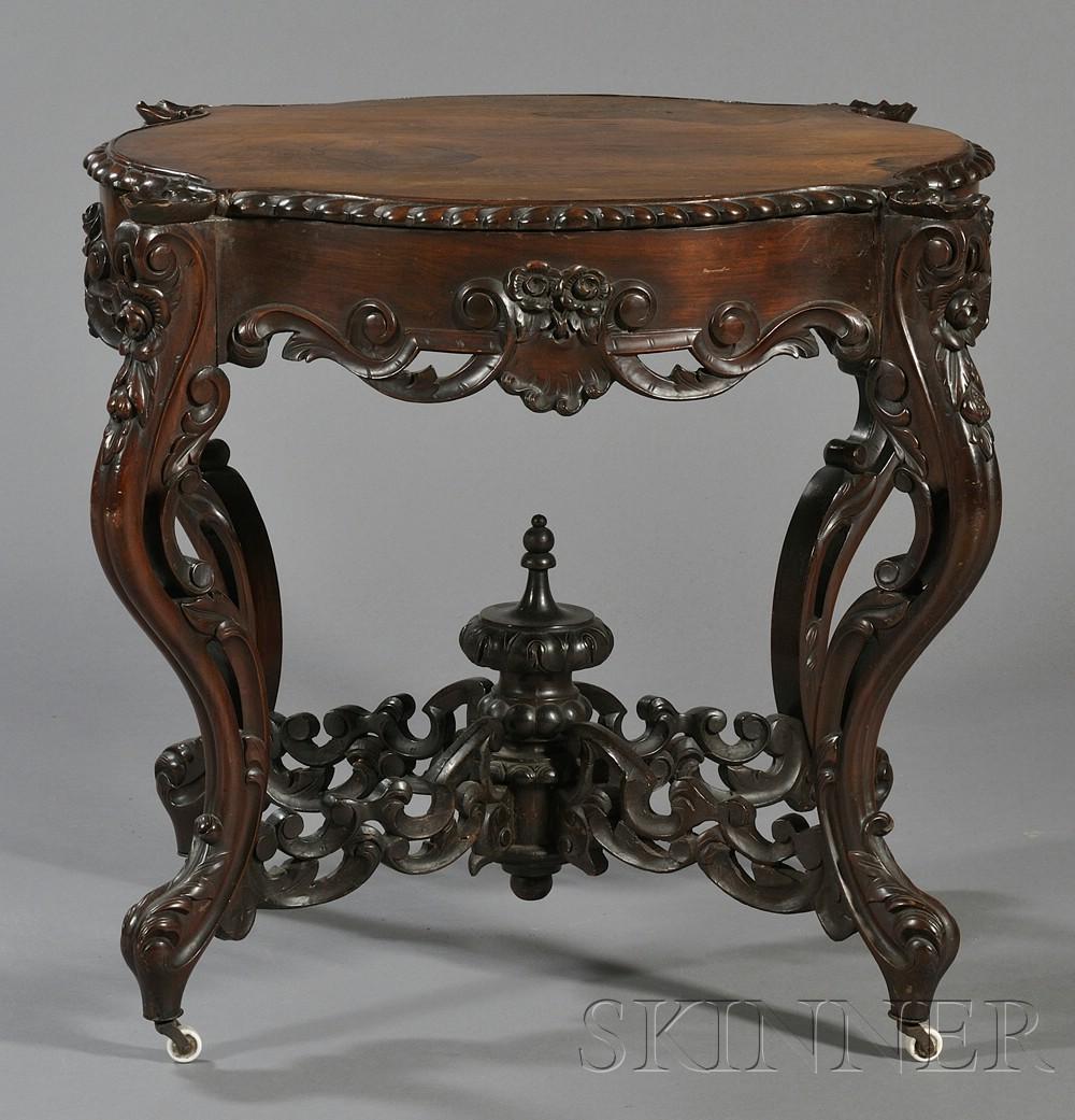 Rococo revival furniture - Lot Image