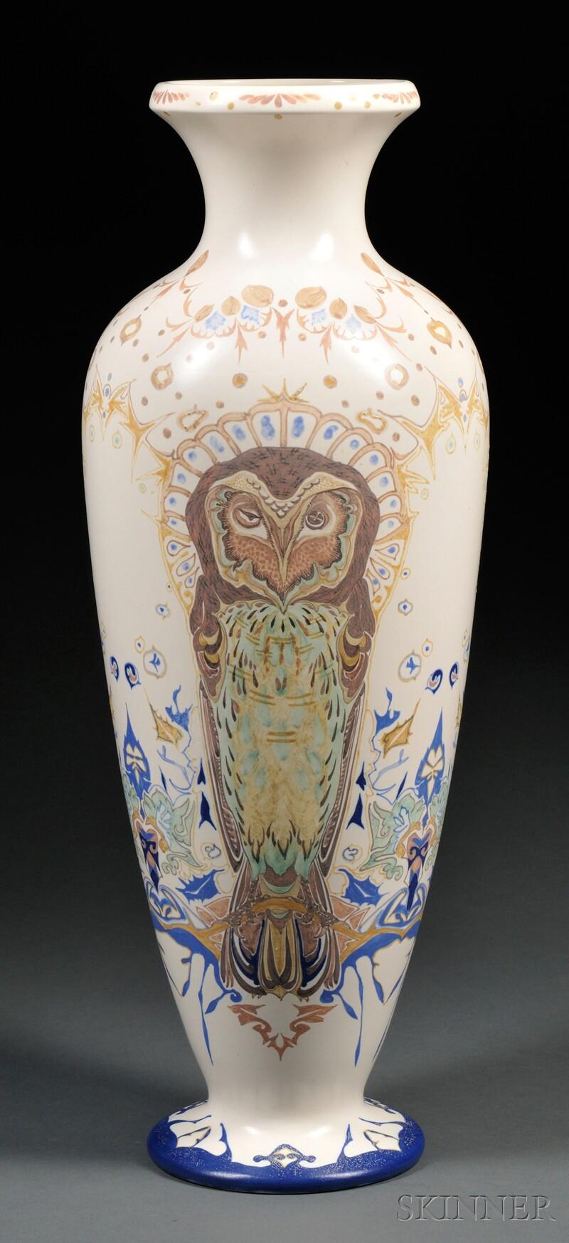 Experimental zuid holland gouda pottery matte glaze floor vase lot image reviewsmspy