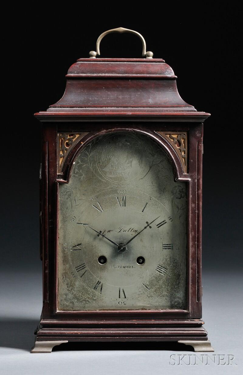 Ethan Allen u0026quot;Tempus Fugitu0026quot; Grandfather Floor Clock : Bidsquare